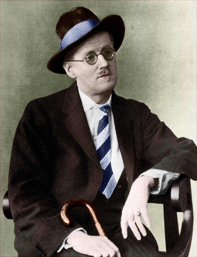 James Joyce portrait Irish writer ( Irish name Séamus Seoighe) 2 February 1882 ? 13 January 1941. Famous for his novel Ulysses. (Photo by Culture Club/Getty Images)