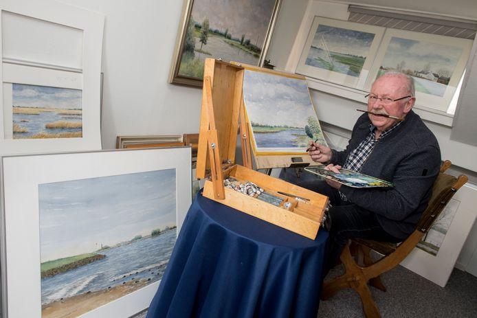 Kunstenaar Jan Kuiper.