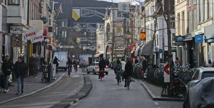 De huidige situatie op de Voorstraat.
