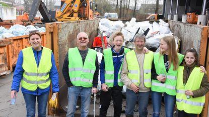 400 vrijwilligers in strijd tegen zwerfvuil