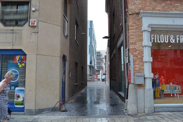 De Citroenstraat stond ooit gekend als de Strontstraat.