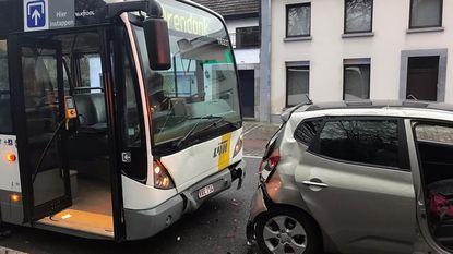 Zes gewonden na ongeval met lijnbus
