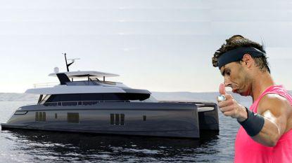 Rafael Nadal heeft een nieuw speeltje: luxeboot van 5,5 miljoen euro aangemeerd in Mallorca
