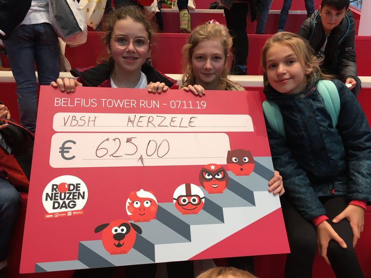De Nelfius Tower Run bracht 625 euro op.