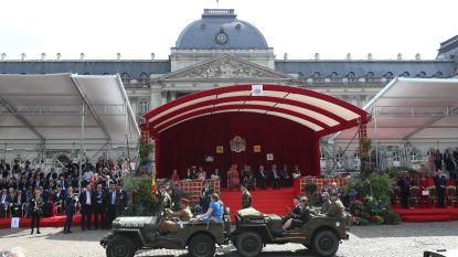 Nationale feestdag: militair defilé gestart in Brussel