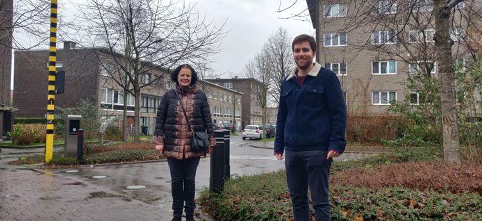Mia De Schamphelaere en Adrian De Weerdt (CD&V) vragen al tien jaar voor de komst van ANPR-camera's in de Collegewijk.