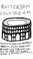 Ingenieur Leo Silvius uit Asperen ziet graag een Rotterdam Colosseum op Zuid verrijzen.