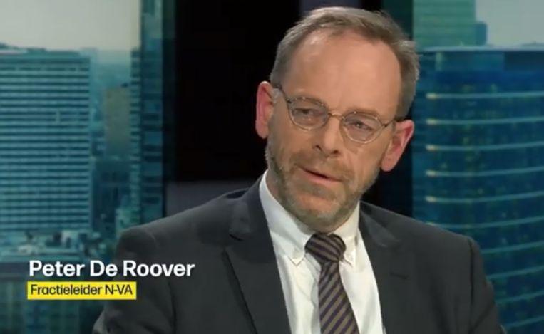 Peter De Roover was gisterenavond te gast in Terzake.