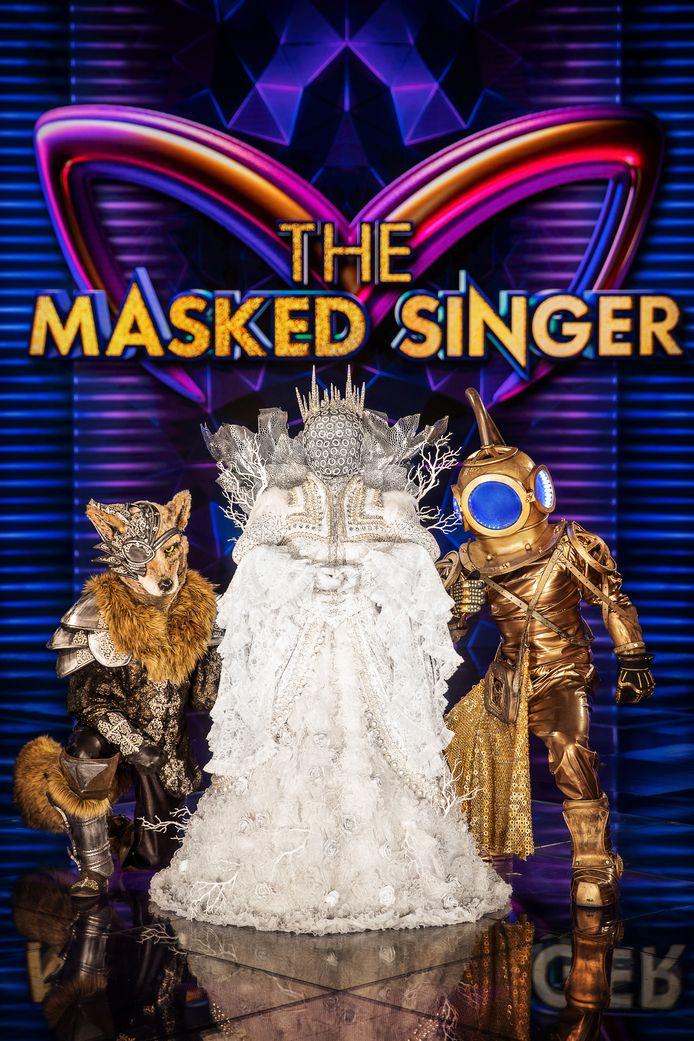 MSKA liet zich inspireren door The Masked Singer.