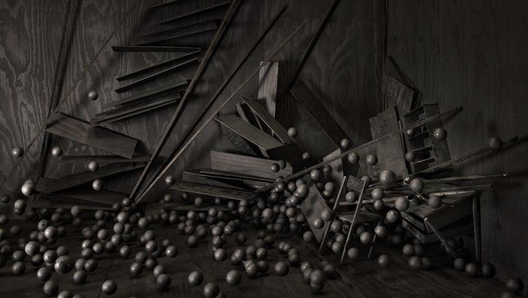The Collapse of Cohesion van Levi van Veluw. Beeld Levi van Veluw / Galerie Ron Mandos