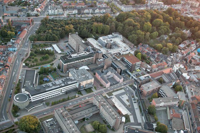 Het AZ Nikolaas in Sint-Niklaas.