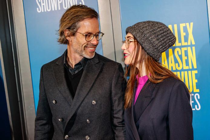 Carice en haar Guy op de rode loper in Amsterdam, in maart.