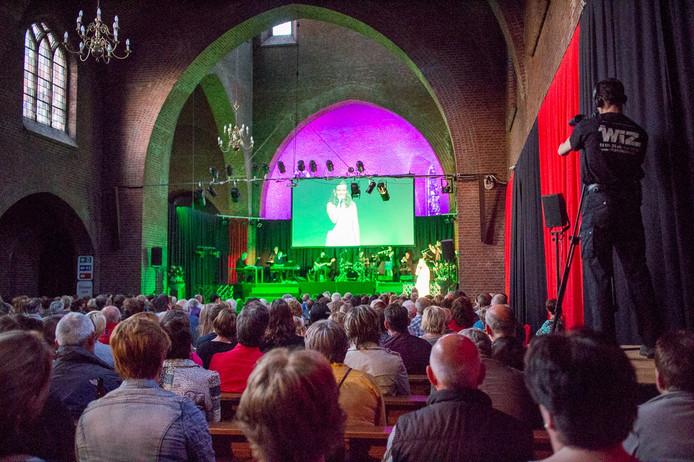 Spot Theater heeft een aantal optredens verzorgd in de Maria Boodschap-kerk