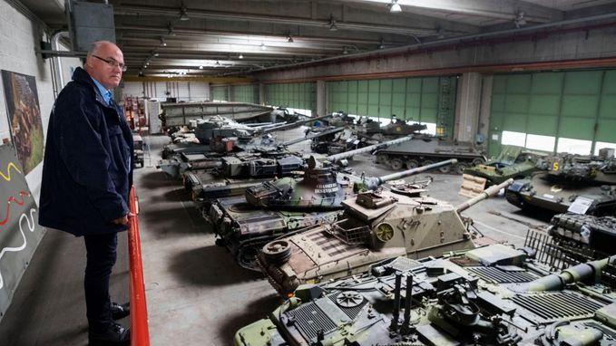 500 bezoekers voor tentoonstelling over tanks en modelbouwtanks
