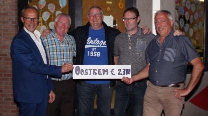 Vzw Oostrem ontvangt cheque van 2.300 euro