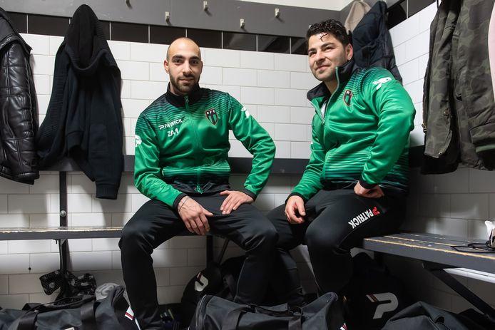 RFC-spelers Osman Aslan en Ayhan Uslu
