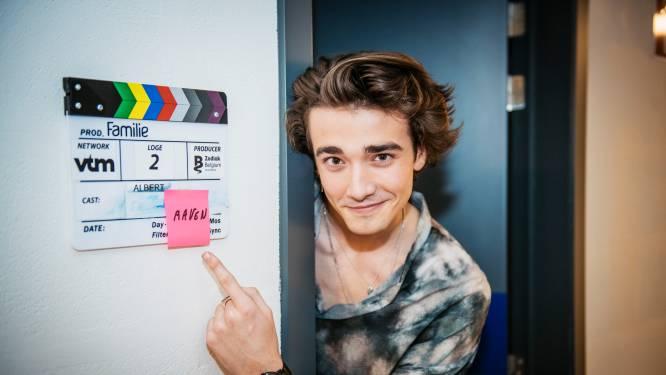 """Aaron Blommaert speelt de zoon van Lars in 'Familie': """"Op mijn 14e wist ik het al: ik wil de nieuwe Niels Destadsbader worden"""""""