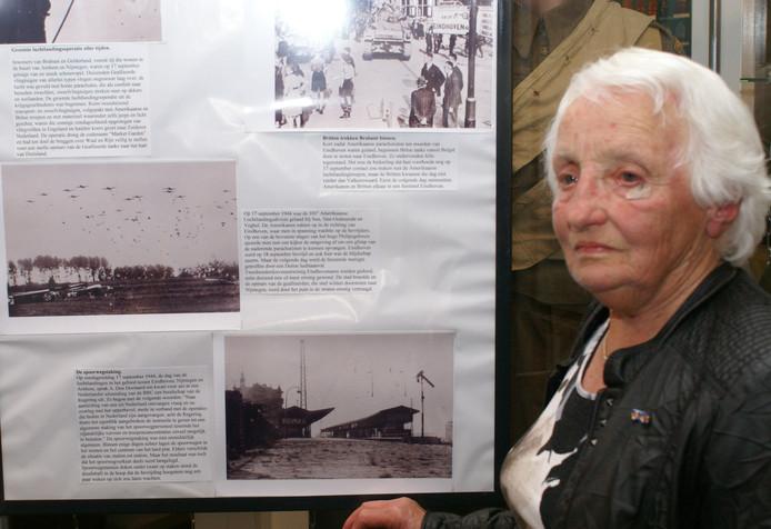 Marietje Maas vertelde eerder in het Hooge Mierdse museum over haar herinneringen aan de oorlog.