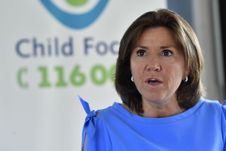 Heidi De Pauw, directrice van Child Focus.