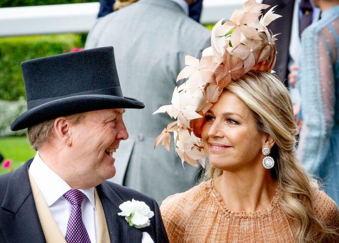 Le roi Willem-Alexander des Pays-Bas et la reine Maxima des Pays-Bas