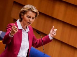 """""""C'est l'heure de l'Europe"""": Von der Leyen propose un fonds de 750 milliards"""