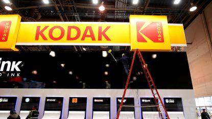 Aandeel van ingedommeld fotobedrijf Kodak schoot met 1.550(!) procent omhoog, maar de pret is al voorbij