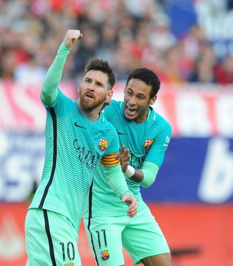 Messi had Neymar graag zien terugkeren: 'Nee, ik heb niet alles voor het zeggen'