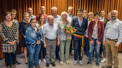 Werchter  Gaston Van de Plas en Paula Van Espen 50 jaar getrouwd