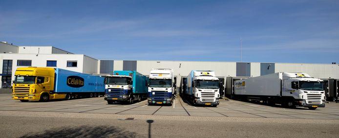 Het nog steeds expanderende Holtense transportbedrijf Müller Transport.  foto Annina Romita