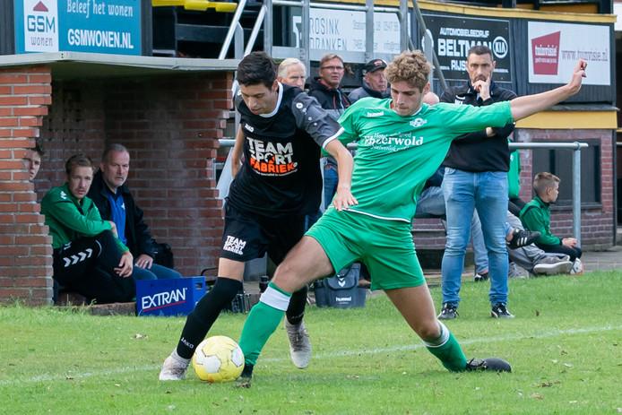 SV Rijssen speelde tegen SV Almen.