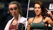 """Na de """"beste vrouwenkamp ooit in het UFC"""": onherkenbare kooivechtster krijgt medische schorsing van 2 maanden"""