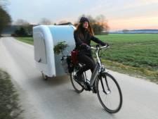 U wilt met deze caravan het fietspad op, mag dat?