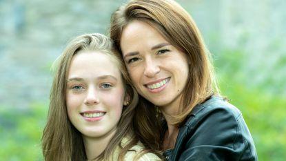 """Stephanie Planckaert beschermt dochter Iluna: """"Die oudere man die haar stuurde heb ik aangegeven bij de politie"""""""