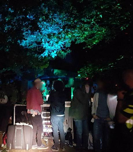 Politie maakt einde aan feesten in Amersfoort
