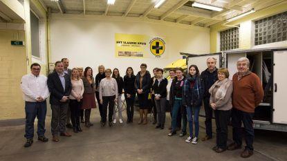 EHBO-brevetten voor cursisten Het Vlaams Kruis