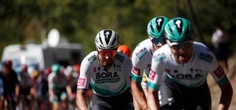 Trois coureurs de Bora-Hansgrohe à l'hôpital après un accident avec une voiture