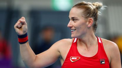 Hongaarse Timea Babos treft Oekraïense Kateryna Kozlova in finale in Taipei