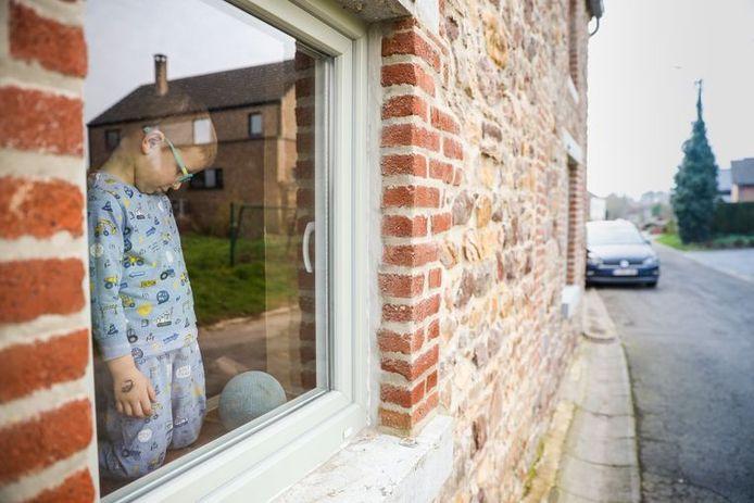Enfant en quarantaine à Charleroi