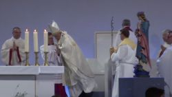 VIRAL. Paus valt van zijn voetstuk