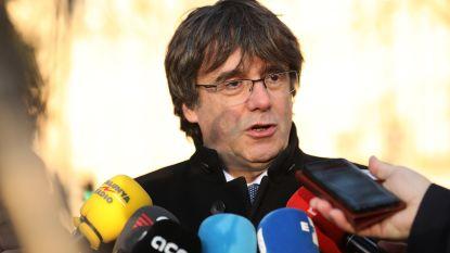 """Puigdemont dient bij VN klacht in tegen """"schorsing"""" van politieke rechten"""