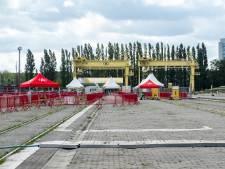 Antwerps testdorp moet sluiten door hevige wind: alle afspraken verzet naar donderdag