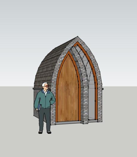 Plannen voor kapel in Moerstraten zijn voorlopig van de baan, de bal ligt nu bij de parochie