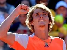 Zverev verslaat Djokovic in finale Rome