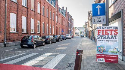 Schoolstraat afgesloten ter hoogte van Hinnebilkstraat