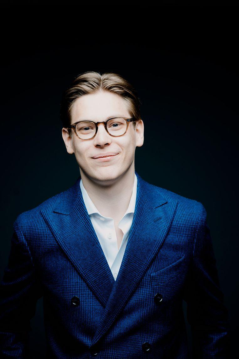 Dirigent Klaus Mäkelä. Beeld Marco Borggreve