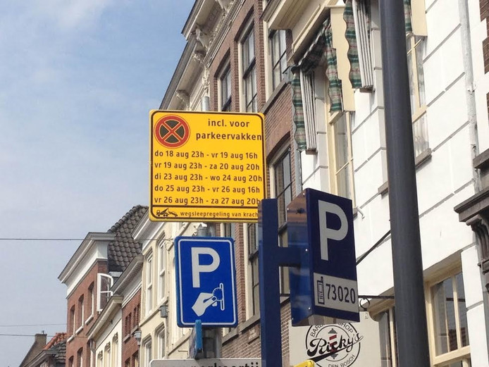 Verboden te parkeren?