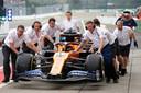 Het team van McLaren.