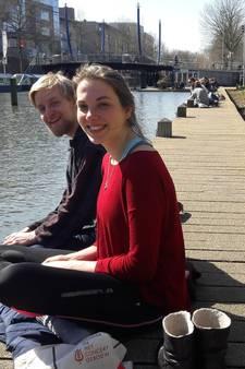 Utrecht geniet van de zon