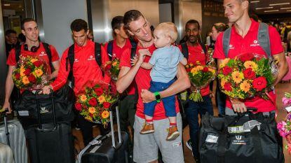 Welkom thuis! Europees kampioenen Naert en Belgian Tornados hartelijk onthaald door vrienden en familie