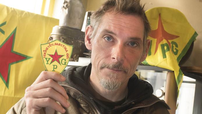Jitse Akse vocht in Syrië bij de Koerden tegen IS.